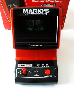 Handheld Empire Game Nintendo Mario S Cement Factory