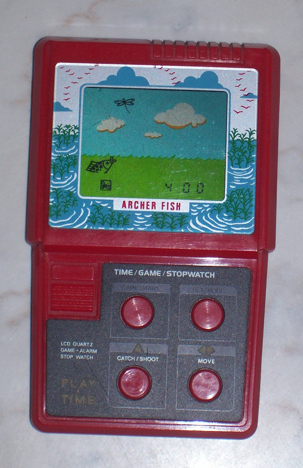 Handheld empire game masudaya archer fish for Archer fish for sale